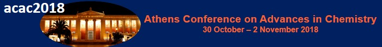 [Athens Conference on Advances in Chemistry 2018]